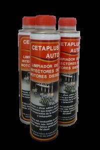 cetaplus auto limpiador de inyectores diésel
