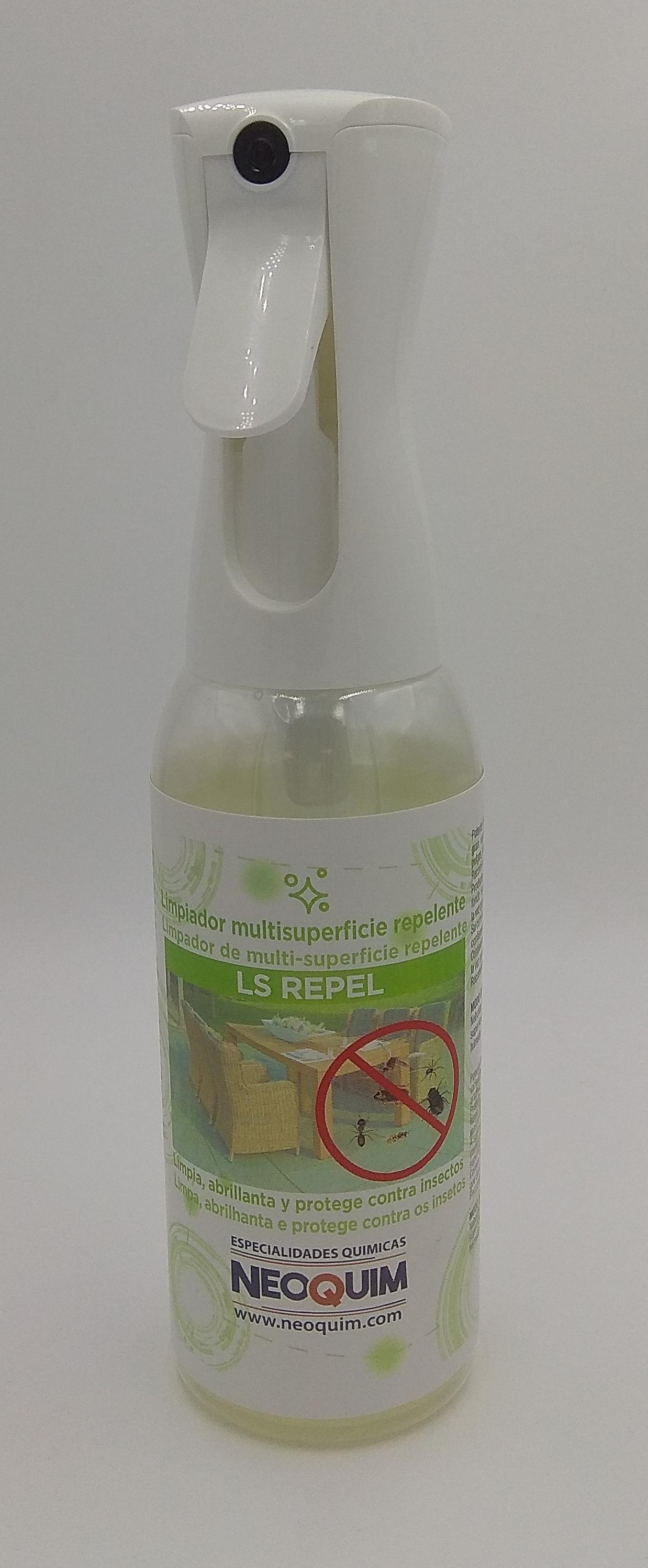 limpiador repelente
